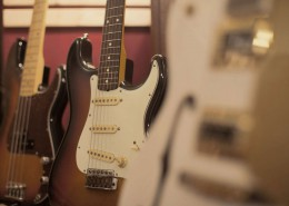 Fender Stratocaster and Persicion Bass